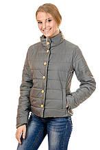 Женская демисезонная куртка IRVIC FK155 42 Оливковый (IrC-FK155-42)
