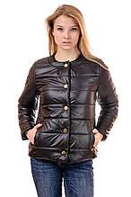 Женская демисезонная куртка IRVIC 48 Черный (IrC-FK132-48)
