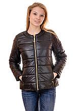 Женская демисезонная куртка IRVIC 44 Черный (IrC-FZ132-44)