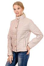 Женская демисезонная куртка IRVIC FK160 46 Бежевый (IrC-FZ160-46)