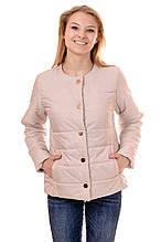 Женская демисезонная куртка IRVIC 48 Бежевый (IrC-FK140-48)