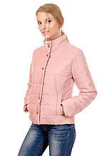 Женская демисезонная куртка IRVIC FK153 48 Розовый (IrC-FK153-48)