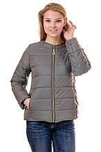Женская демисезонная куртка IRVIC 50 Оливковый (IrC-FZ135-50)