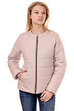 Женская демисезонная куртка IRVIC 44 Бежевый (IrC-FZ140-44)