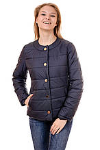 Женская демисезонная куртка IRVIC 46 Темно-синий (IrC-FK131-46)