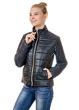 Женская демисезонная куртка IRVIC 46 Черный (IrC-FZ152-46)