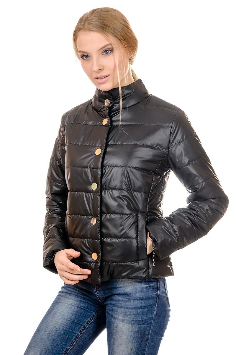 Женская демисезонная куртка IRVIC FK152 48 Черный (IrC-FK152-48)