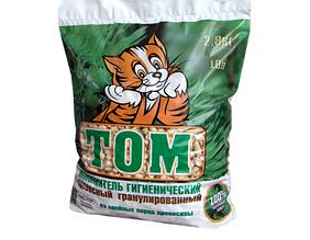 Том древесный наполнитель 2,8 кг