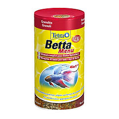 Сухой корм для аквариумных рыб Tetra в хлопьях «Betta» 100 мл (для петушков)