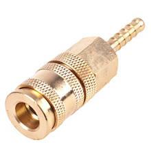 Быстроразъемное соединение на шланг с фиксатором 06 мм (ПМ-2SH) Alloid