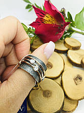 Серебряное кольцо Анти-Стресс Интенс 1 от Ирида-В