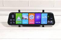 """Зеркало видеорегистратор K40 10"""" Android 1/8 Сенсорный экран GPS + ПОДАРОК!, фото 3"""