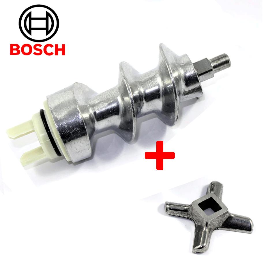 Шнек и нож для мясорубки Bosch 050366(оригинал)