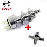 Шнек и нож для мясорубки Bosch 050366(оригинал), фото 1