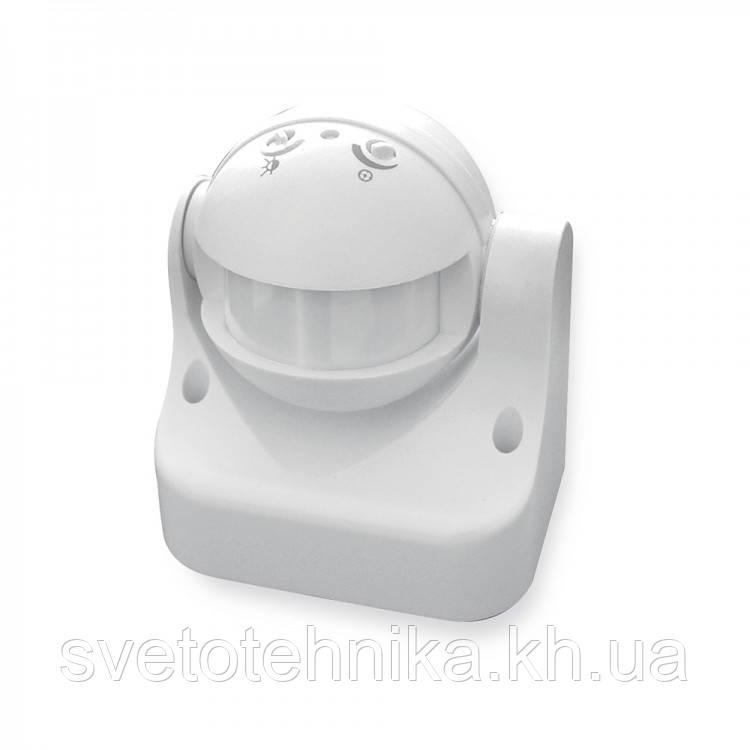Датчик движения с фотоэлементом AVT-01/1 накладной (аналог  SEN11 И ZL8002), белый