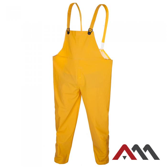 Дождевик-полу комбинезон с ПВХ покрытием Artmas SPD, желтый, L