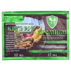 АГРОМАКСИ Круз-350 10мл + ЯроМикс 10мл(клотианидин350г\л+компл мл в хелф) на 30кг