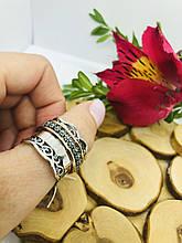 Серебряное кольцо Анти-Стресс Плаза от Ирида-В