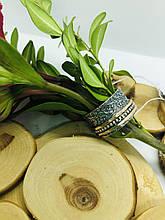 Серебряное кольцо Анти-Стресс Сатин от Ирида-В