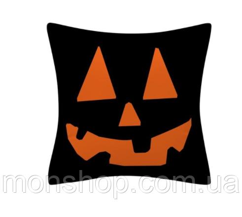 Подушка Хэллоуин в черном