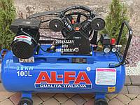 Компрессор воздушный Al-FA ALC100-2 3800 Вт 660 л/мин, фото 1