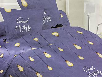 Семейный комплект 150х220 (2 шт) постельного белья из бязи голд  «Спокойной ночи»