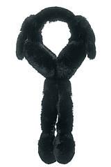Навушники з рухомими вушками чорні