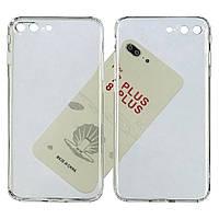 Чехол силиконовый KST для Apple iPhone 7 Plus/ 8 Plus прозрачный