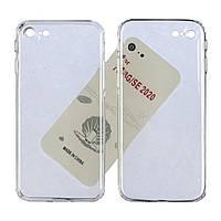 Чехол силиконовый KST для Apple iPhone 7/ 8/ SE2020 прозрачный