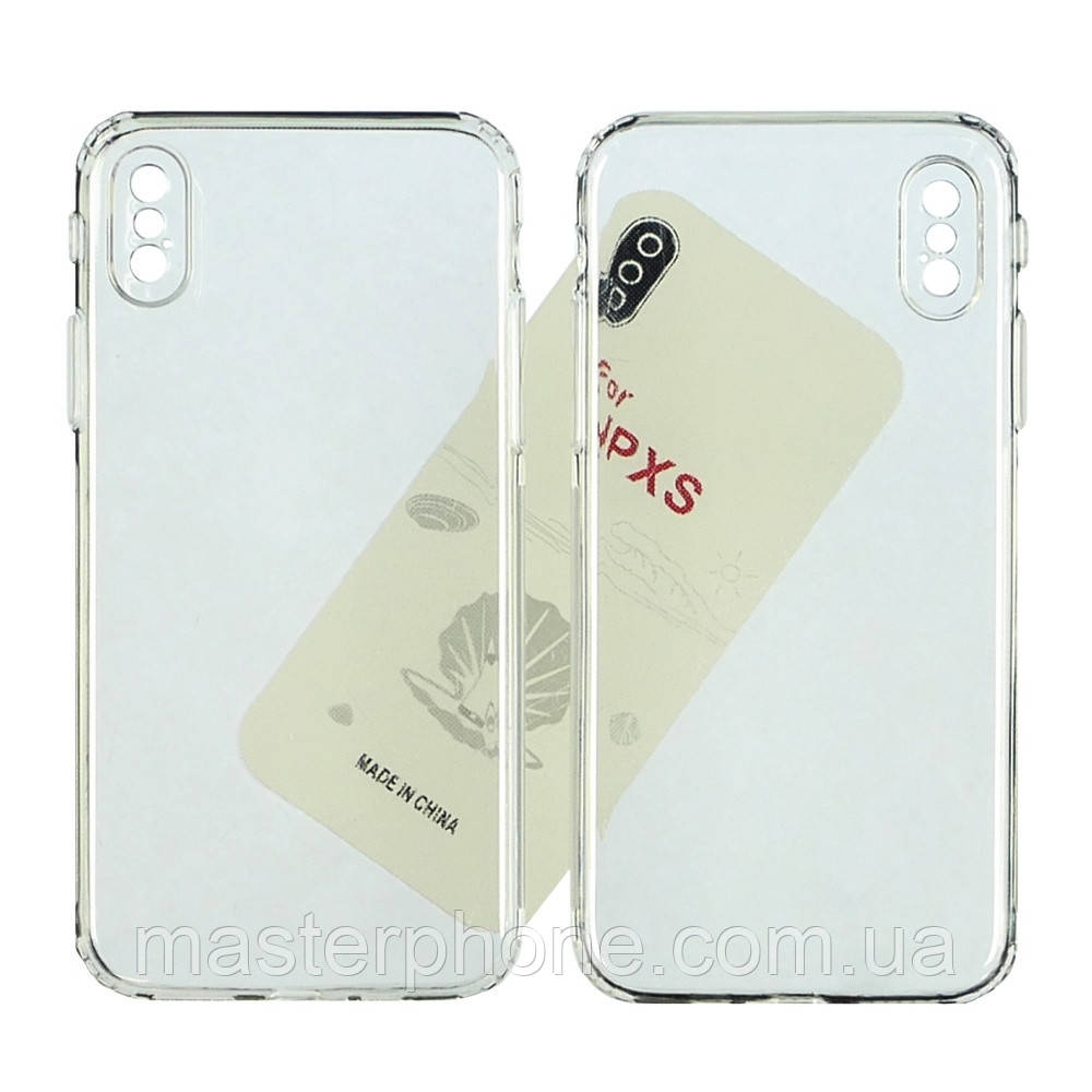 Чехол силиконовый KST для Apple iPhone X/ XS прозрачный