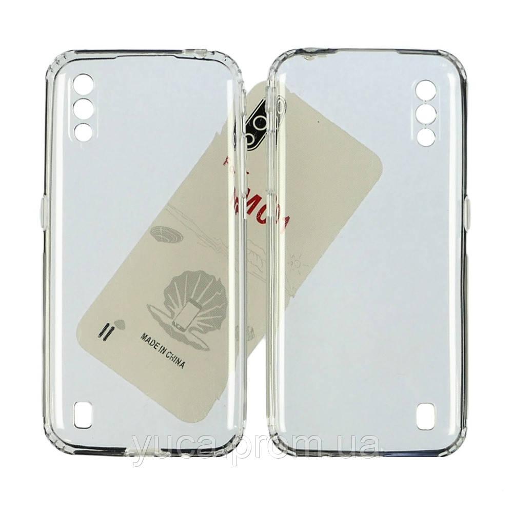 Чехол силиконовый KST для Samsung M015 M01 прозрачный
