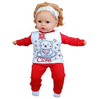 Пижама детская трикотажная 62-68 (3-6м.) 2070