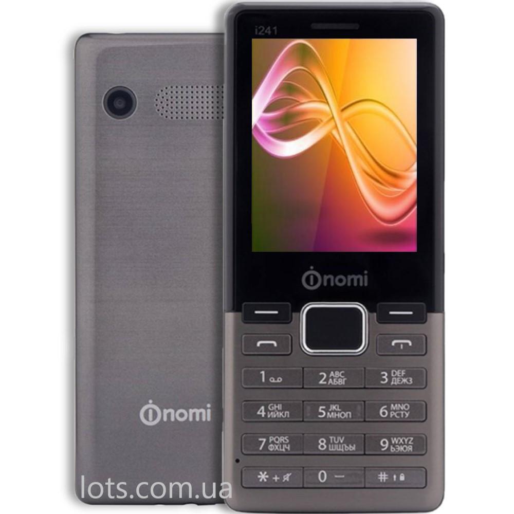 Мобильный Телефон Nomi i241 Dark Grey (2-SIM)