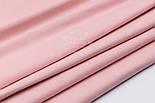 Однотонная фланель цвета розовой пудры, ширина 240 см, фото 3