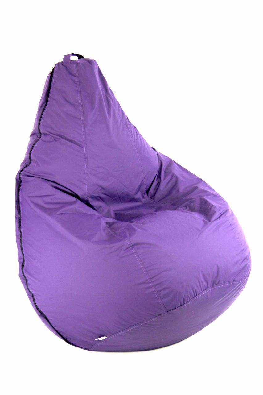 Светло-Фиолетовое Кресло мешок груша пуфик  XL (120х75)