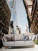 Фотообои виниловые на флизелине города улицы дома небоскребы дороги мосты, фото 1