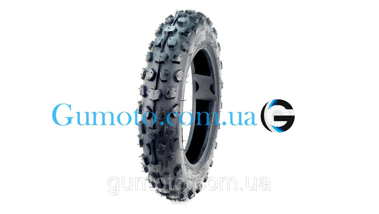 Резина на скутер 3.00-10 бескамерная кросс Moto Tech TL, фото 2