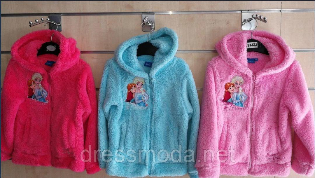 Махровые пайты для девочек Frozen 3-8лет