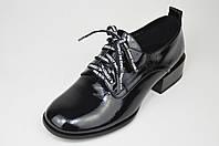 Туфли лаковые Geronea 11661 черные