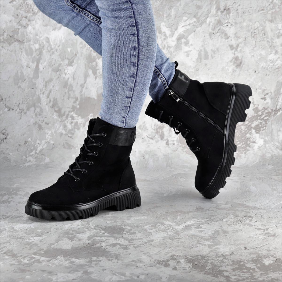 Ботинки женские черные Kaitlin 2276 (36 размер)