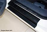 Пластикові захисні накладки на пороги для Peugeot Expert II 2007-2016, фото 3