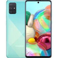 Мобильный телефон Samsung SM-A715FZ (Galaxy A71 6/128Gb) Blue (SM-A715FZBUSEK)
