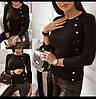 Женский свитер, стильный, повседневный. Стандарт. Цвета на фото., фото 2