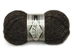 Alize Superlana maxi, №804 коричневый жаспе