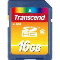Карта памяти Transcend SDHC 16Gb class 10 USB