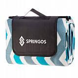 Коврик для пикника и кемпинга складной Springos 200 x 160 см PM005, фото 2