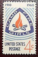 """""""Camp Fire Girls 1910-1960"""" - 1960год"""