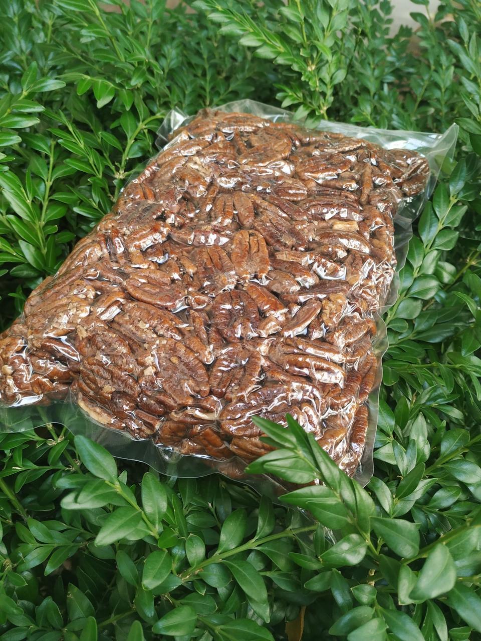 Пекан карамельний чищений горіх Америка 1 кг
