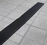 Пластиковая защитная накладка на задний бампер для Peugeot Expert II 2007-2016, фото 4