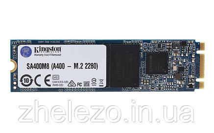 Накопичувач SSD 120GB M. 2 SATA Kingston A400 M. 2 2280 SATA III TLC (SA400M8/120G), фото 2